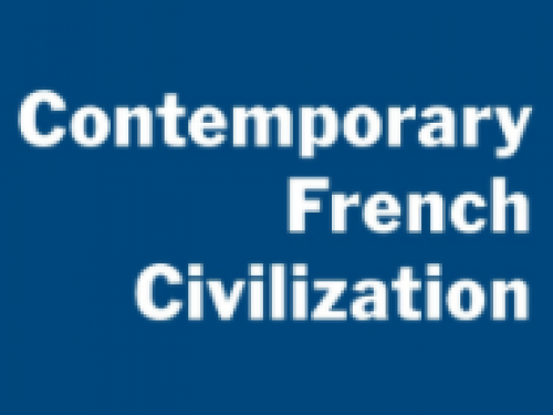 Contemporary French Civilization Cover image