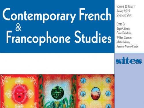 Cover of Contemporary French & Francophone Studies