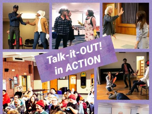 Talk-it-Out! in Action flier