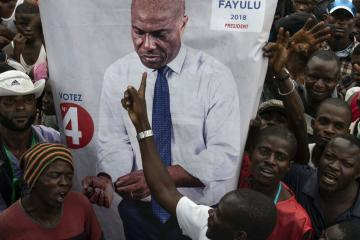 Some in the DRC identify opposition leader Martin Fayulu as the winner but official results have yet to be released.